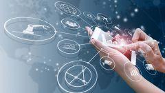 Dieses Bild zeigt Konnektivität über ein Smartphone.