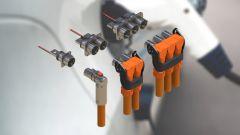 Verschiedene Steckverbinder und Kabel für HV- & E-Mobilität Applikationen im Industriesektor.