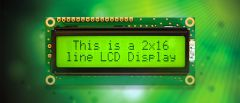 This is a character LCD Display.