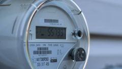Dieses Bild zeigt einen intelligenten Stromzähler zur Messung des Energieverbrauchs.