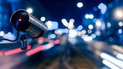 Dieses Bild zeigt eine Verkehrskamera.