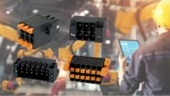Four different types of terminal blocks.
