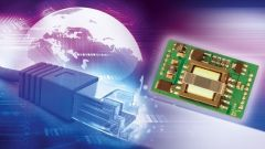 Ethernet solution on a blue and purple background.