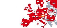Karte aller Länder, in denen der professionelle Vertrieb und technischer Support von CODICO verfügbar sind.