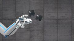 Snapdragon Prozessoren auf grauem Hintergrund.