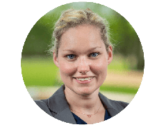 This image shows Michaela Kronfellner, who works in order administration.