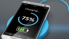Cell phone that gets full power through inductive charging.