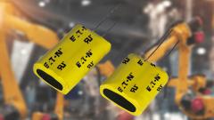 EATONs PTV-Doppelschichtkondensatoren bieten ultrahohe Kapazität und hohe Leistungsdichte.