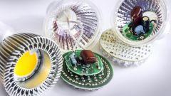 Verschiedene LEDs und LED Teiber.